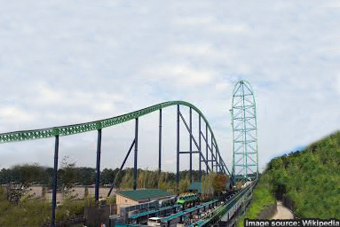 Kingda Ka At Six Flags