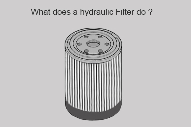 what does a hydraulic filter do