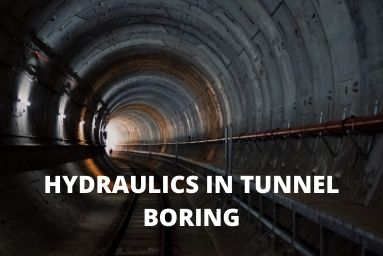Hydraulics in Tunnel Boring